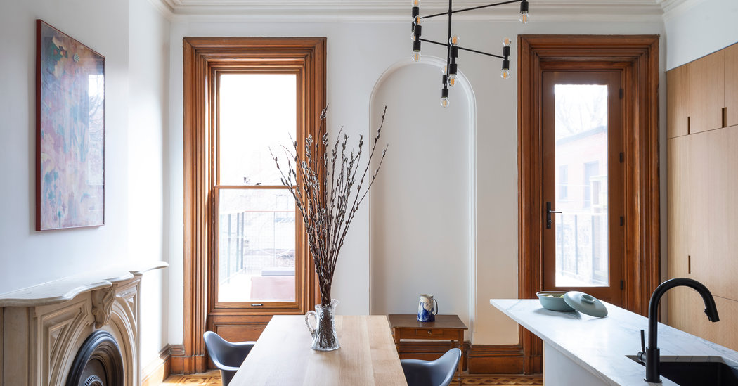 How One Couple Transformed Their Brooklyn Brownstone to Age in Place