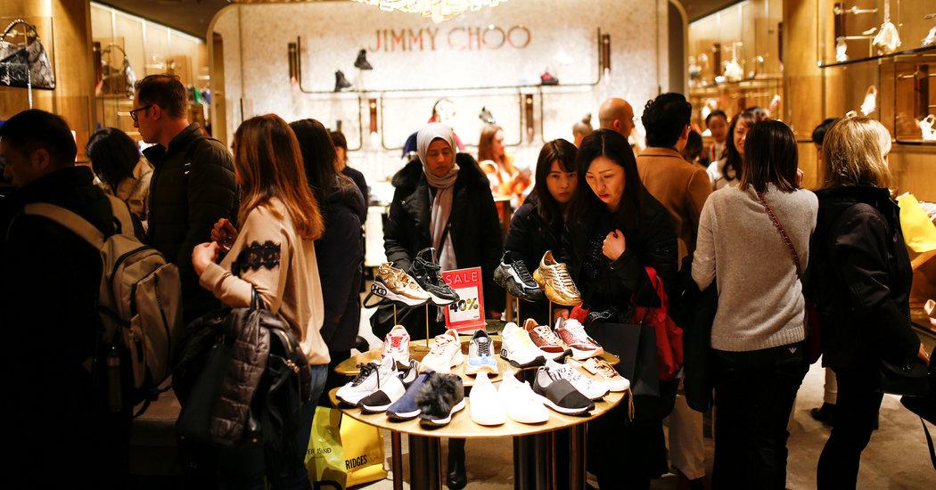 Shuttered Stores, Fewer Tourists: Luxury Feels Coronavirus Effects