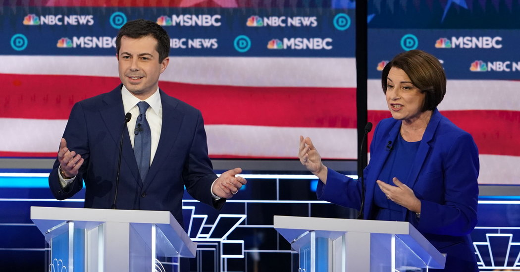 Klobuchar and Buttigieg Spar Over Her Stumble on Mexico's President