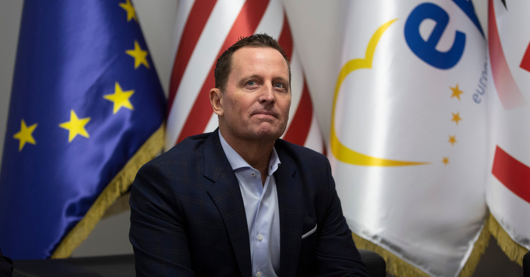 Trump Names Richard Grenell as Acting Head of Intelligence