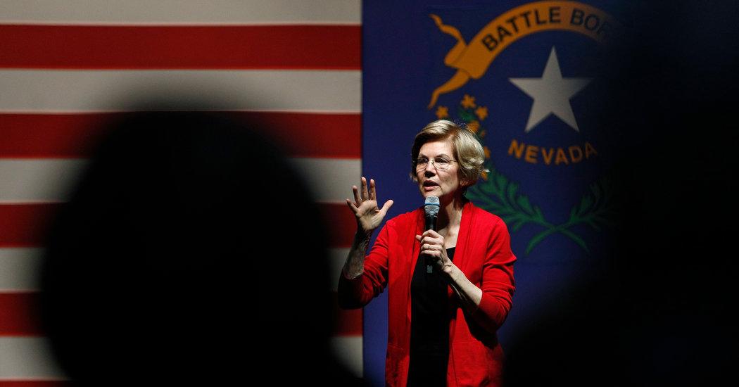 Elizabeth Warren, Long a Super PAC Critic, Gets Help From One