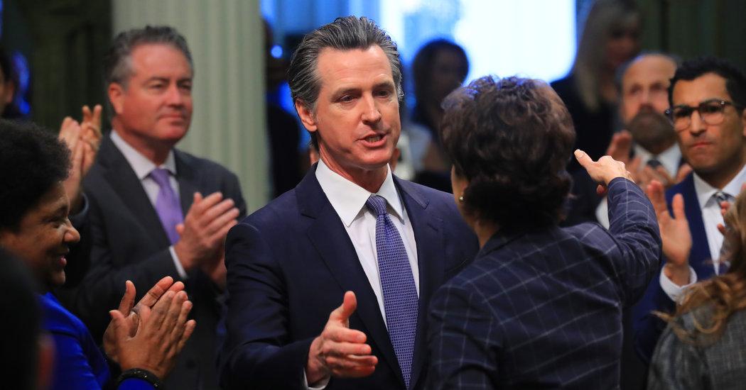 California Governor Declares Homeless Crisis 'a Disgrace'