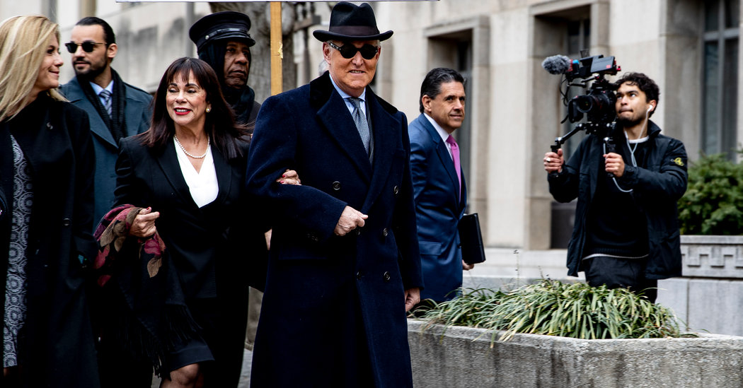 Roger Stone Is Sentenced to Over 3 Years in Prison