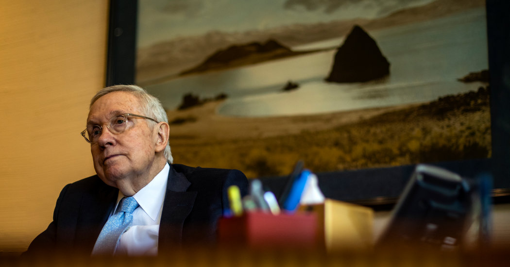 Harry Reid Says Nevada Should Have a Primary: 'All Caucuses Should Be a Thing of the Past'