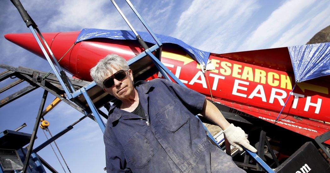 Mike Hughes, 64, D.I.Y. Daredevil, Is Killed in Rocket Crash