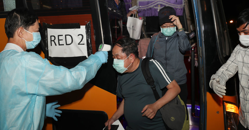 Westerdam Passengers at Low Risk of Coronavirus Infection, C.D.C. Says