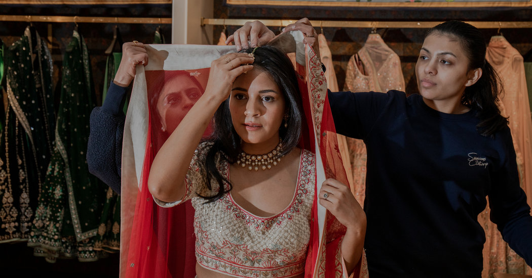 Indian Brides Say 'Yes' to Lehengas Near and Far (Very Far)