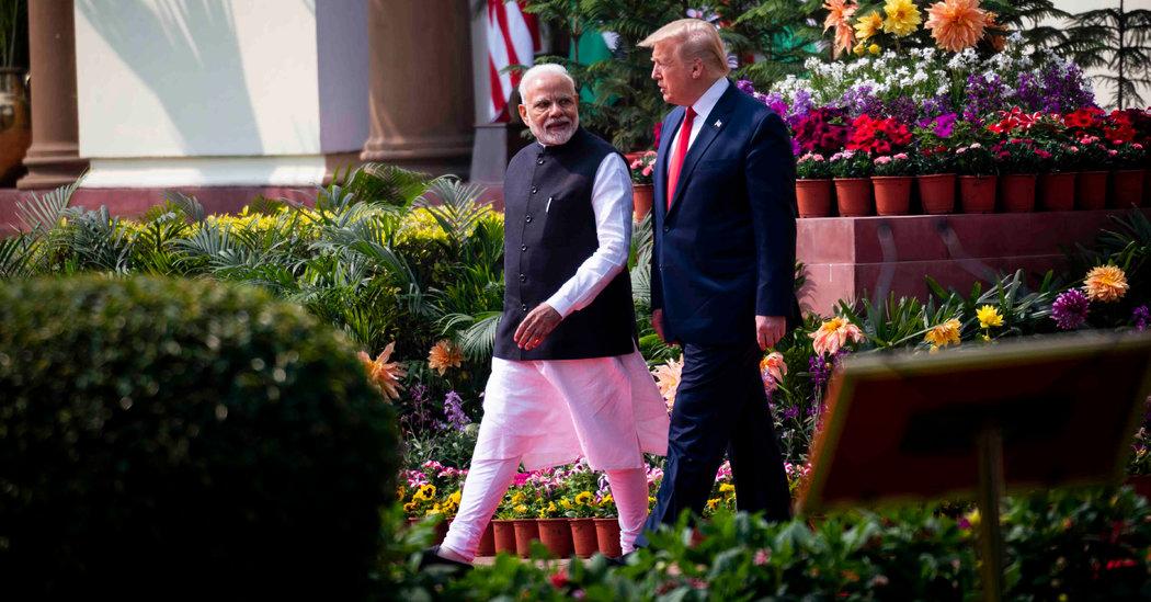 Trump Reports Progress Toward India Trade Deal but No Breakthrough