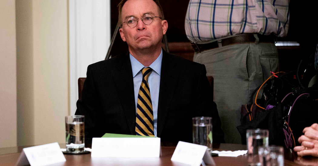 Mulvaney Says He Often Disagrees With Trump (Just Never Publicly)