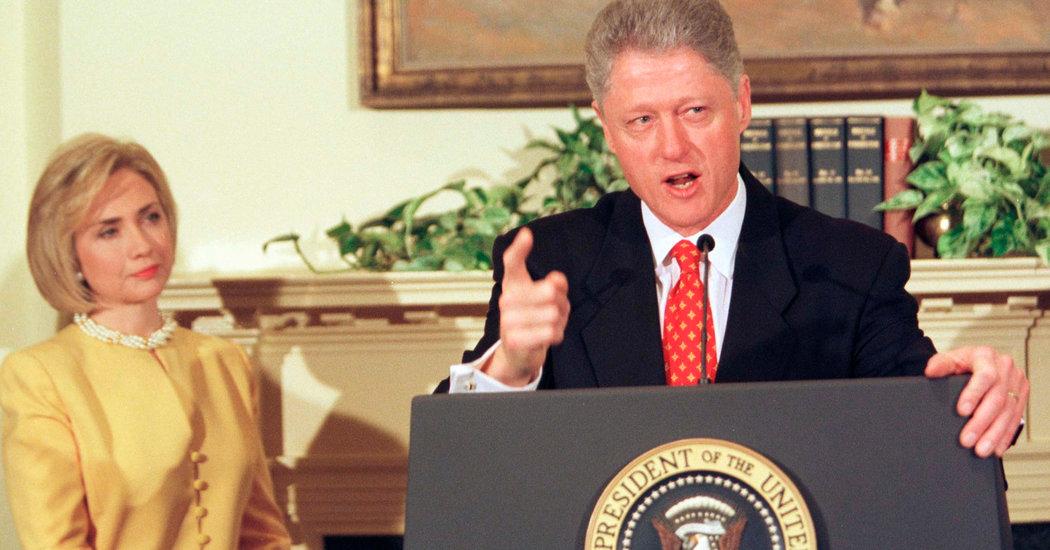 Bill Clinton Explains Monica Lewinsky Affair as 'Managing My Anxieties'
