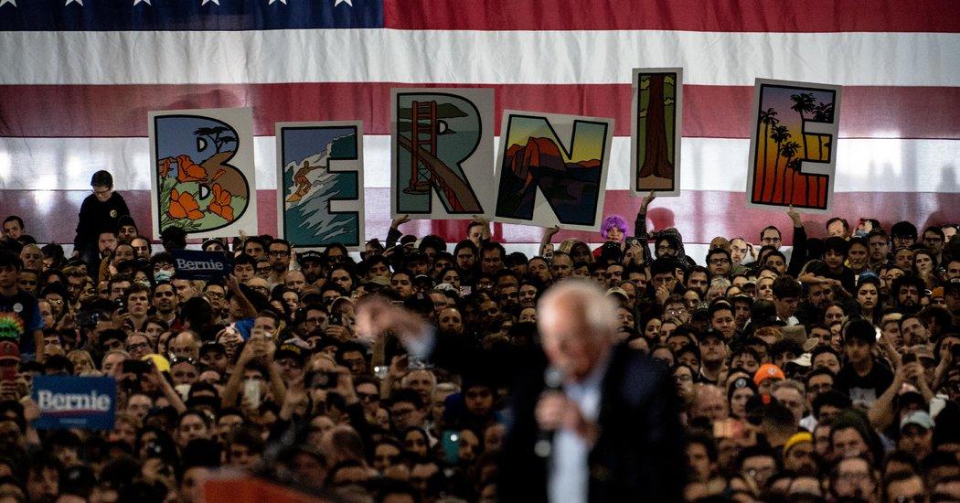 Silicon Valley Leaders' Plea to Democrats: Anyone but Sanders