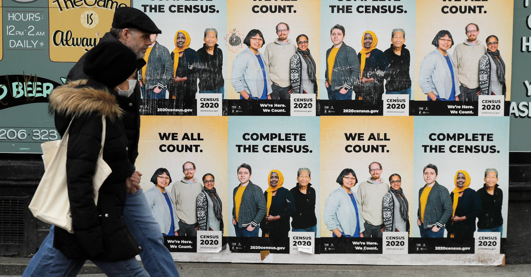 Knocked Off Track by Coronavirus, Census Announces Delay in 2020 Count