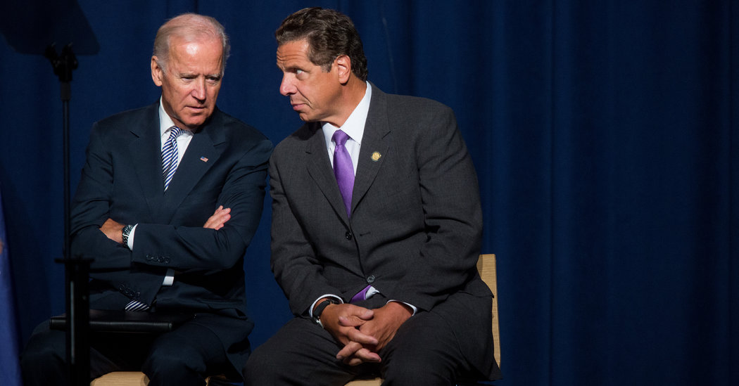 Biden and Cuomo: Friends, Allies and Supporting Players No Longer