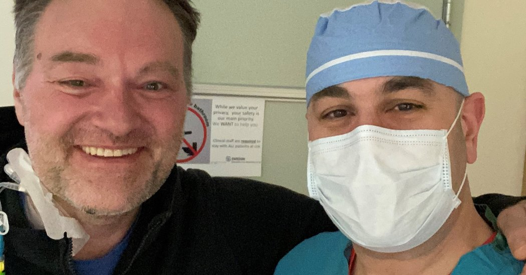 He Was a Doctor Who Never Got Sick. Then the Coronavirus Nearly Killed Him.