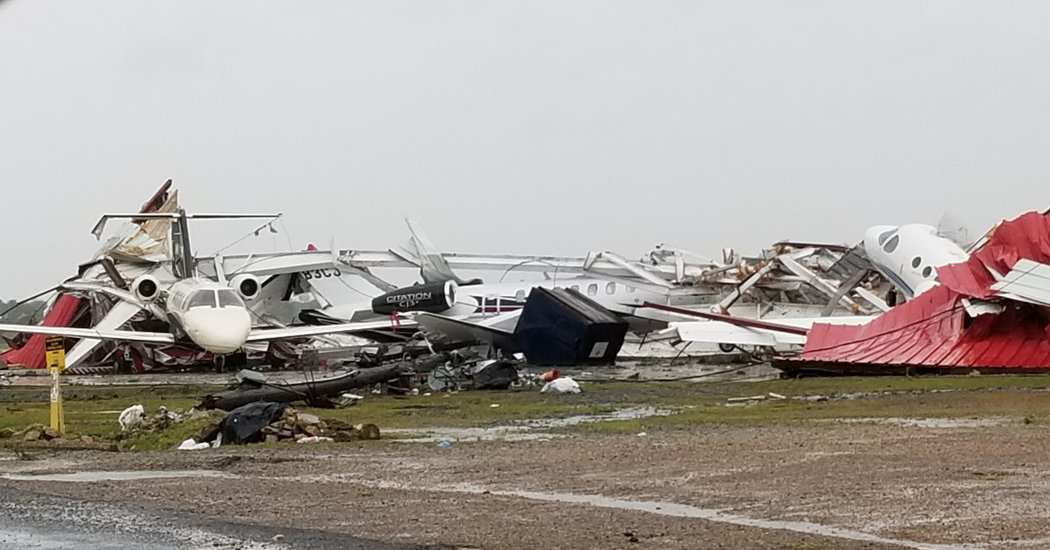 Severe Weather Tears a Destructive Path in Parts of the South