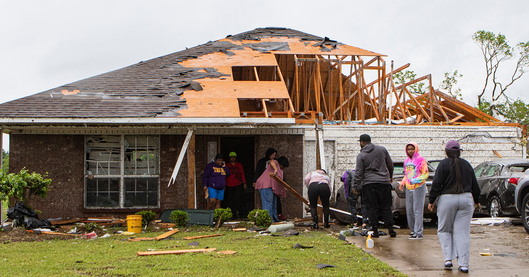 At Least 6 Killed as Severe Weather Strikes Mississippi, Officials Say