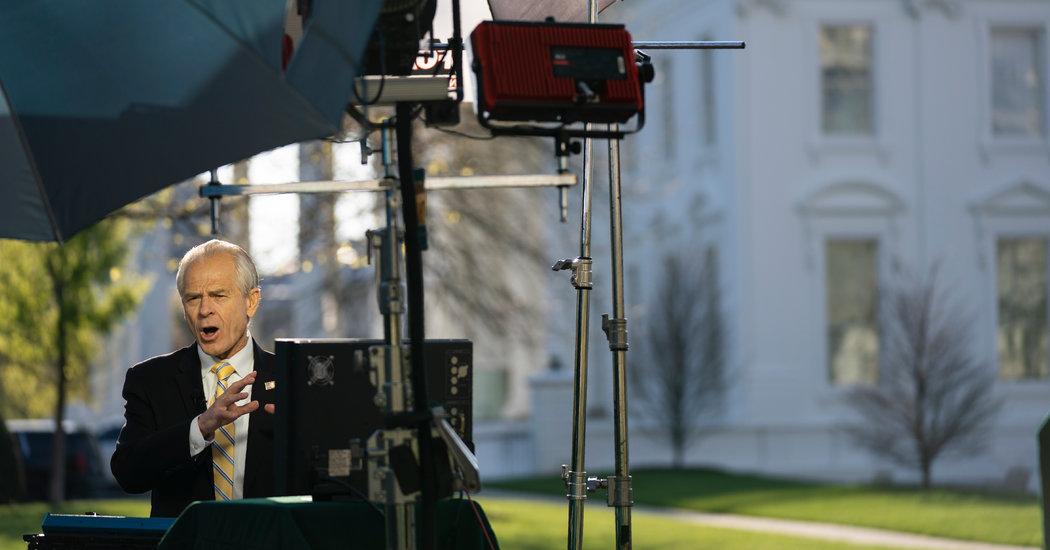 Peter Navarro Warns Shutdown Could Be More Deadly Than Virus