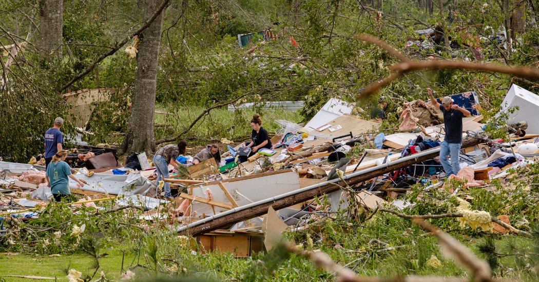 Dozens Are Killed as Tornadoes and Severe Weather Strike Southern States